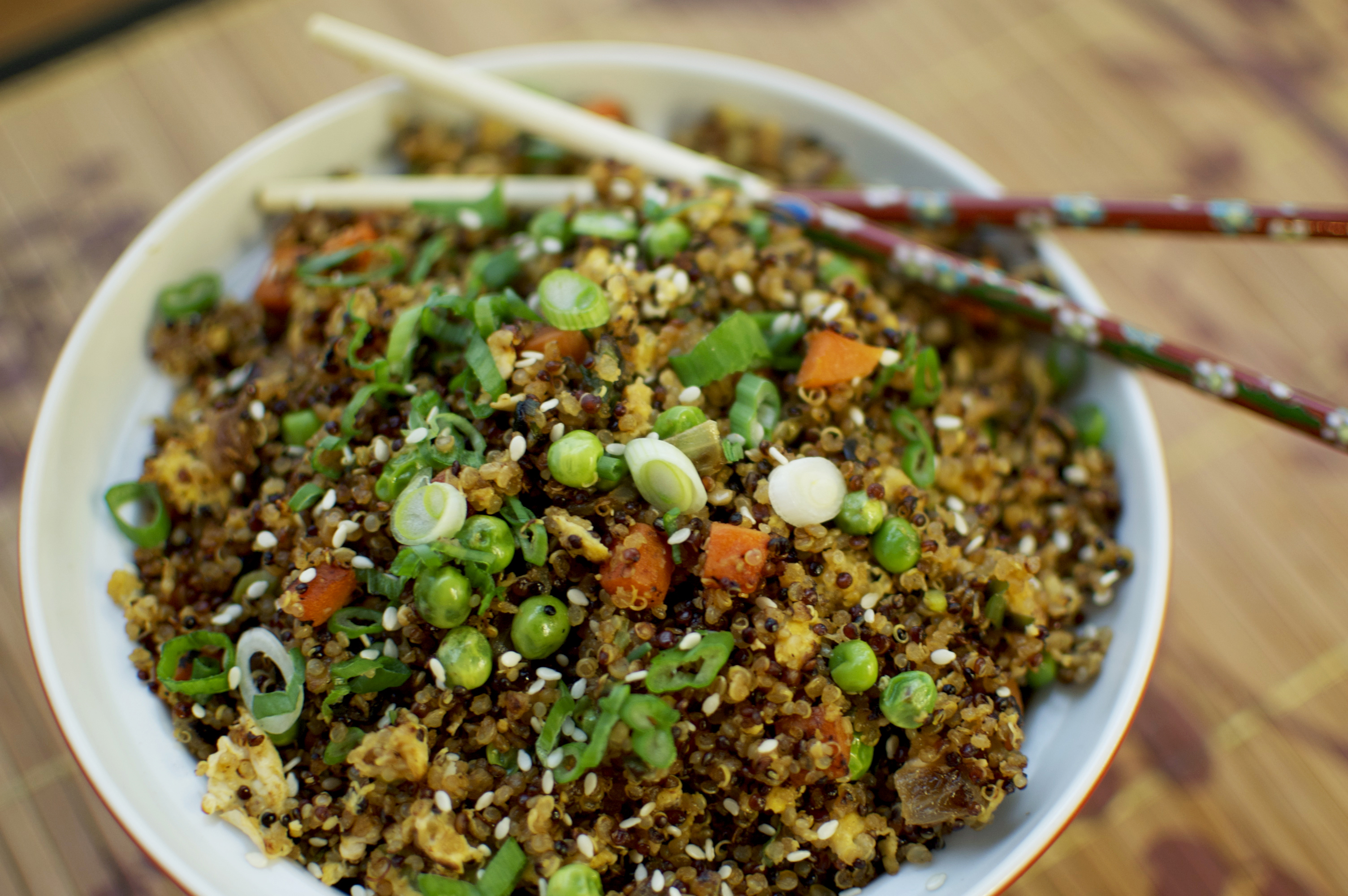 Quinoa 'Fried Rice' Recipe